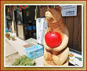 りんご園の写真